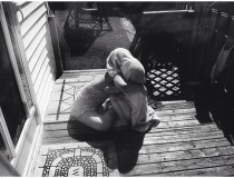 Porch love #sisters #documentingchildhood #girlswithautism #summer