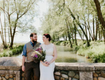 Rebecca & Kevin's Backyard Wedding